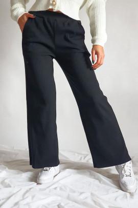Nohavice Fazio čierne