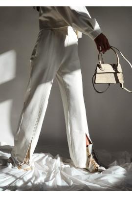 Nohavice Karen biele