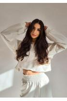 Mikina Olivia biela