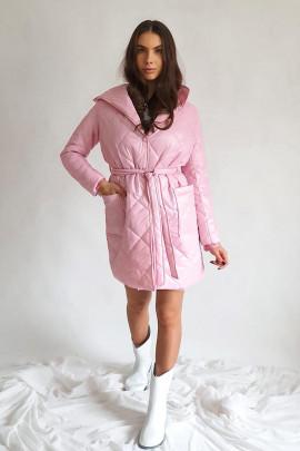 Kabát Tatiana ružový