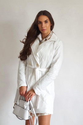 Kabát Brutto biely