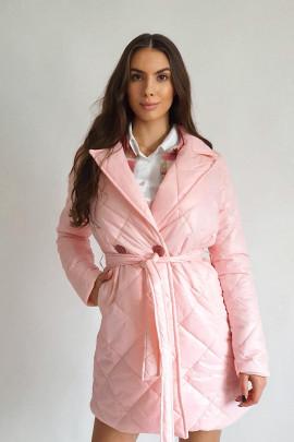 Kabát Brutto ružový