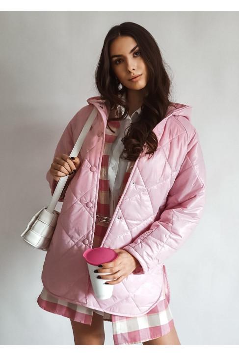 Kabát Lolly ružový