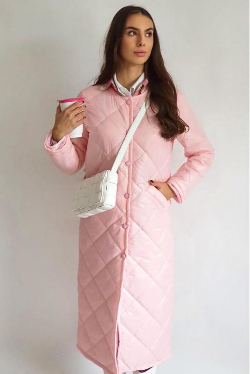 Kabát Ludvic ružový