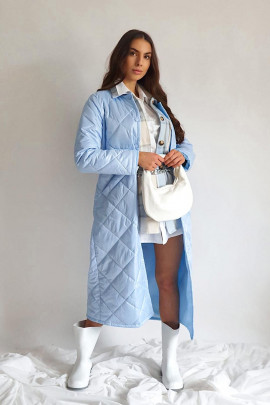 Kabát Ludvic modrý