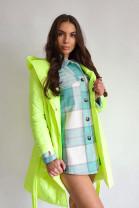 Kabátokošeľa Noira zelená