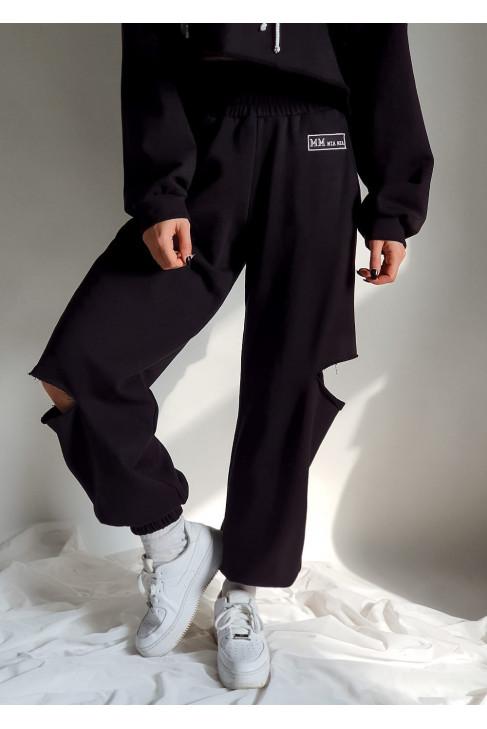 Nohavice Giano čierne