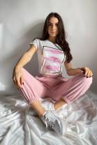 Tričko Ving ružové