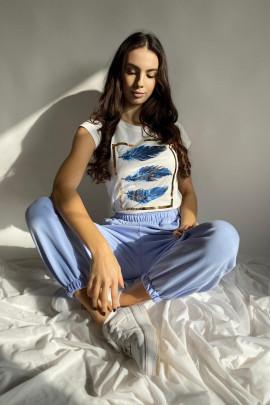 Tričko Ving modré
