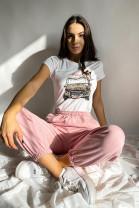 Tričko Merlin ružové