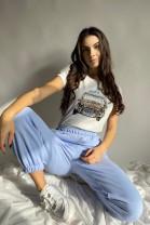 Tričko Merlin modré