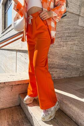 Tepláky Felice oranžové