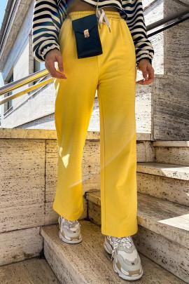 Tepláky Felice  žlté