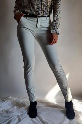 Nohavice Riccardo krémové
