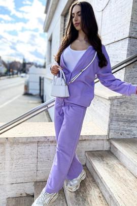 Bunda Leticia fialová