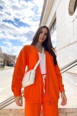 Bunda Leticia oranžová