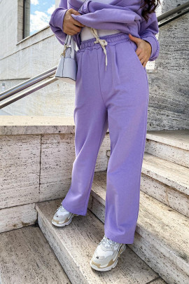 Tepláky Felice fialové
