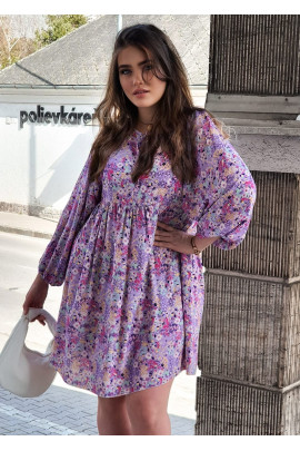 Šaty Delinda fialové