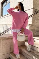 Mikina Carmela sýta pink
