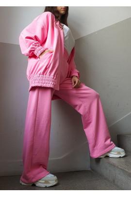 Nohavice Thomas ružové