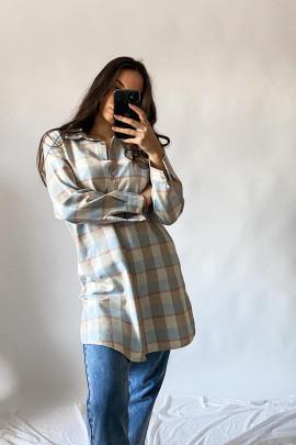 Košeľa Monique modrá