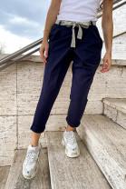 Nohavice Ninno modré