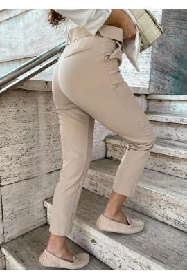 Nohavice Angela béžové
