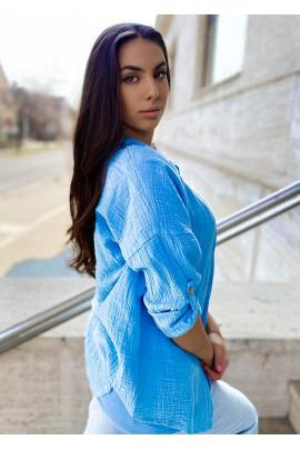 Košeľa Senia modrá