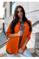 Košeľa Senia oranžová