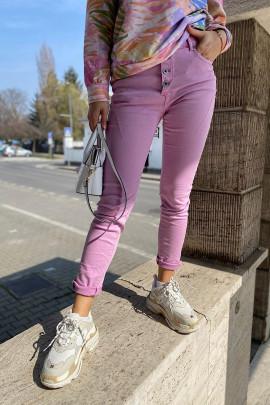 Nohavice Pamella ružové