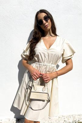 Šaty Anabel maslové