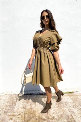 Šaty Anabel  béžové