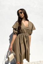 Šaty Anabel  hnedé