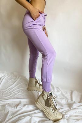 Tepláky Giano fialové