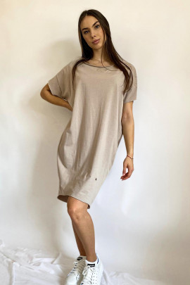 Šaty Danila béžové
