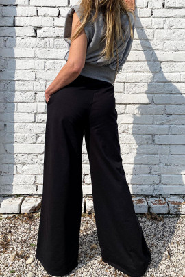 Nohavice Sanio čierne