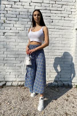 Nohavice Antima  modré