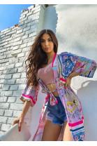 Kimono Michael fialové