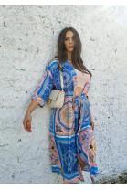 Kimono Michael modré