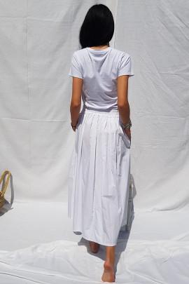 Sukňa Leona biela