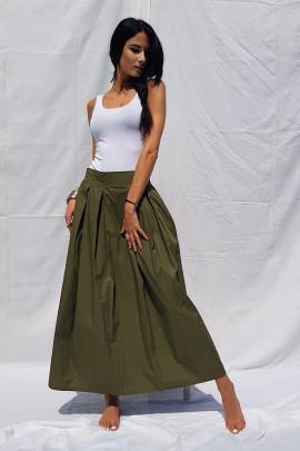 Sukňa Leona zelená
