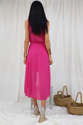 šaty ruž. 38