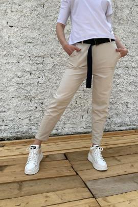 Nohavice Cristina béžové