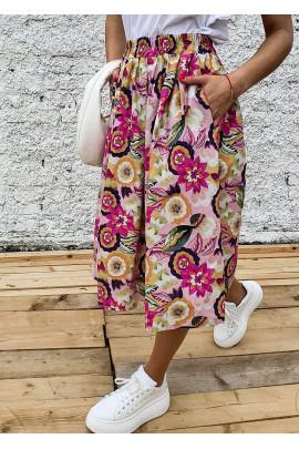Sukňa Edvige fuksiová