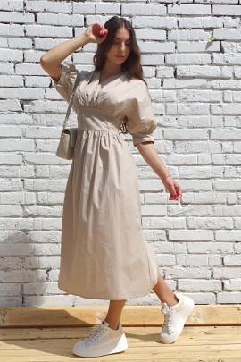 Šaty Dario béžové