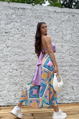 Nohavice Malika modré