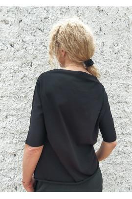 Tričko Delfine čierne