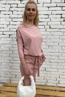 Šaty Magnolie staroružové