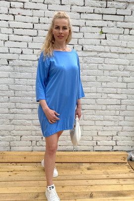Šaty Alina modré