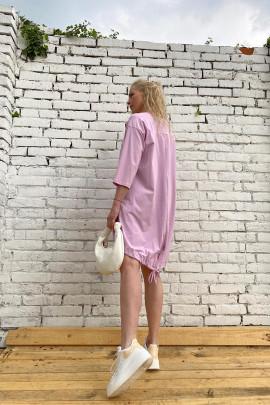 Šaty Alina ružové
